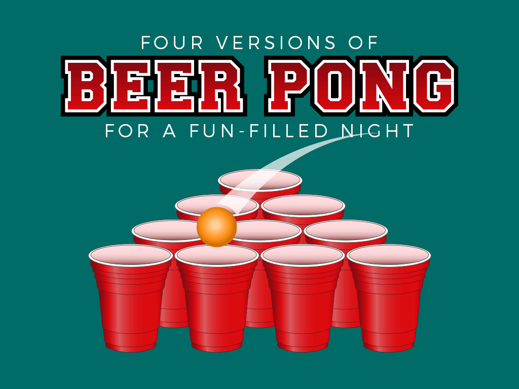 cover beer pong