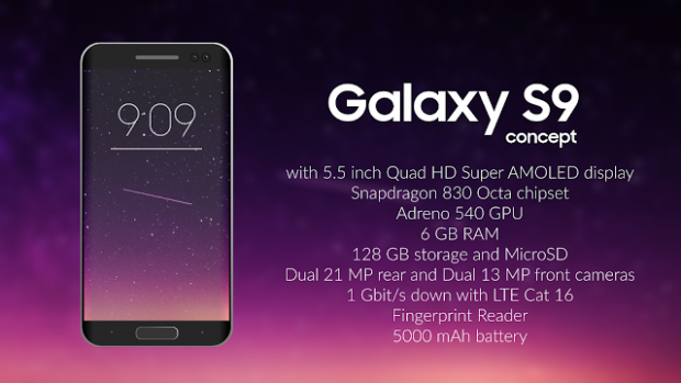 galaxy s9 specification & features