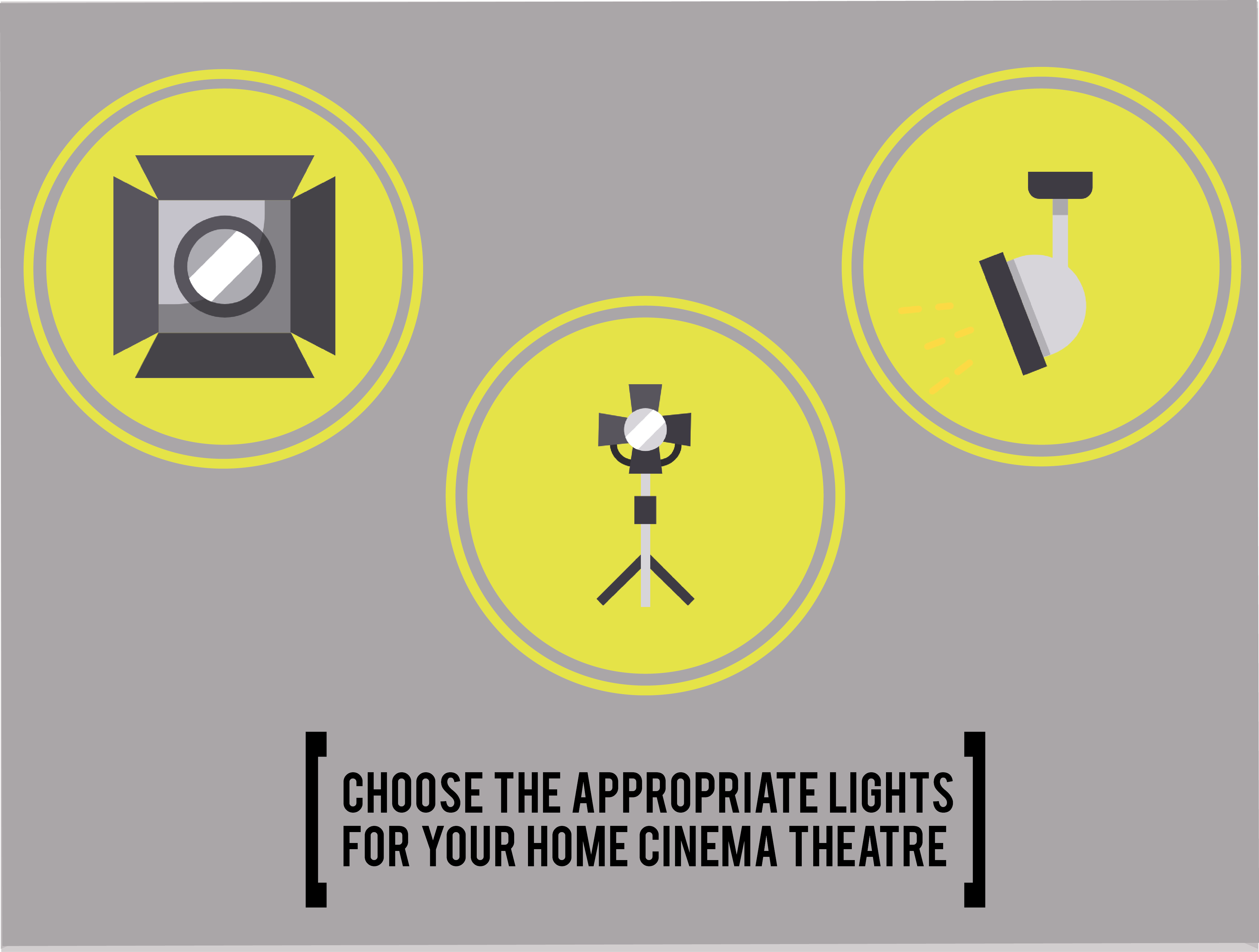 lights for your home cinema theatre