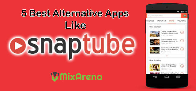 5 Best Alternative Apps like SnapTube