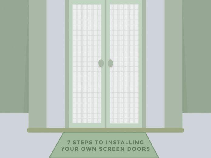 Installing Your Own Screen Doors